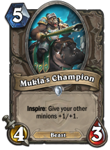 Mukla's Champion