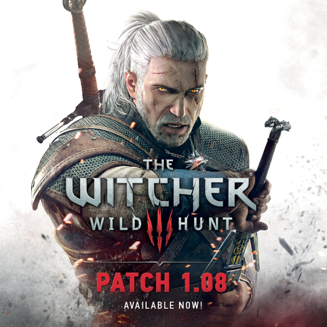 Witcher 3 1.08