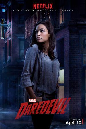 Rosario Dawson reprises her role as Claire Temple