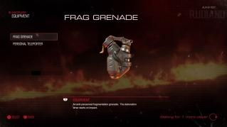 DOOM Alpha - Equipment (01) - Frag Grenade