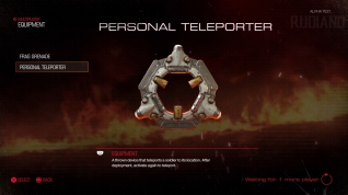 DOOM Alpha - Equipment (02) - Persona Teleporter