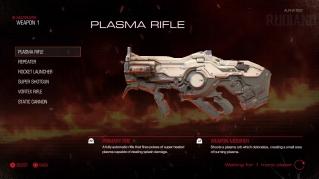 DOOM Alpha - Weapon (01) - Plasma Rifle
