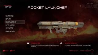DOOM Alpha - Weapon (03) - Rocket Launcher