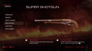 DOOM Alpha - Weapon (04) - Super Shotgun