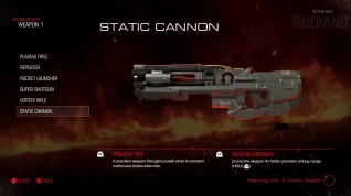 DOOM Alpha - Weapon (06) Static Cannon
