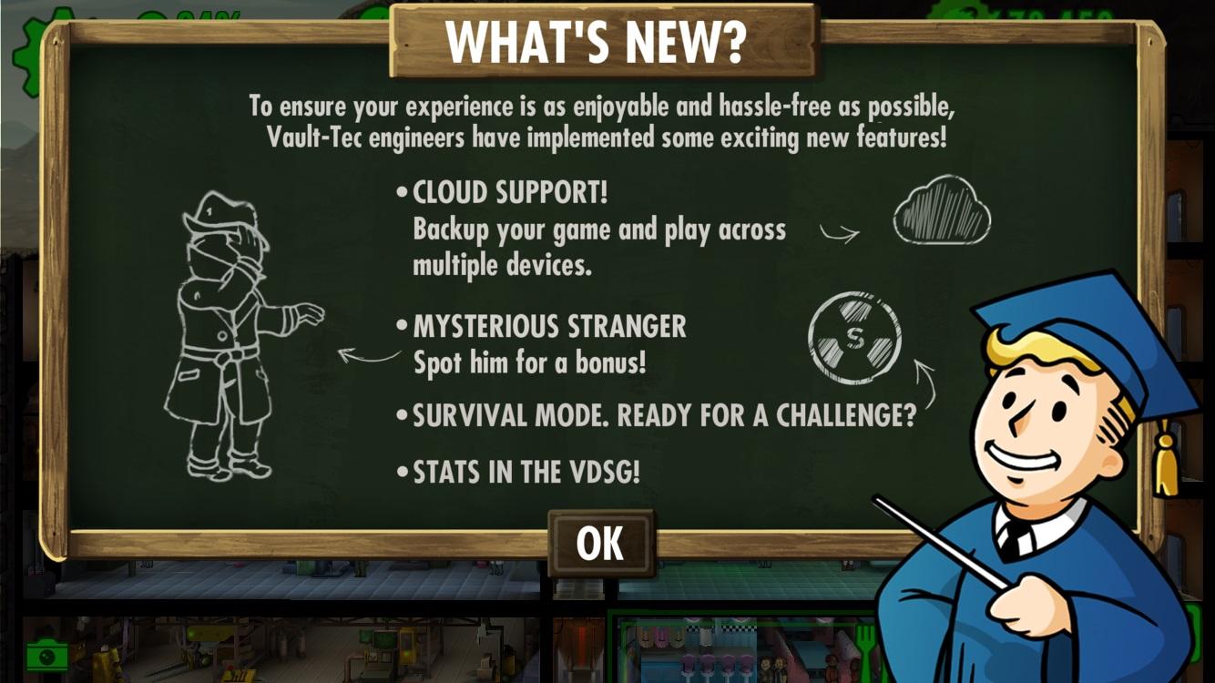 Fallout Shelter v1.2.0 | Stranger's Weblog