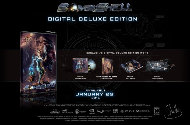 Bombshell Digital Deluxe edition