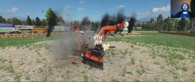 Wreckfest Lawn Mower Derby