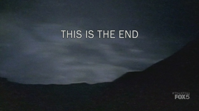The X-Files – This is the end | Stranger's Weblog