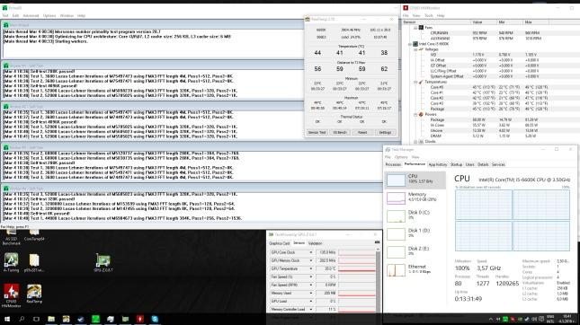 i5-6600K and Noctua NH-D14