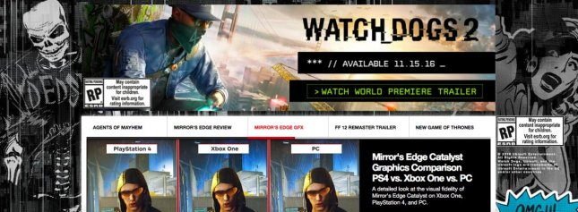 Watch Dogs 2 Dated