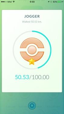Pokémon GO - Jogger
