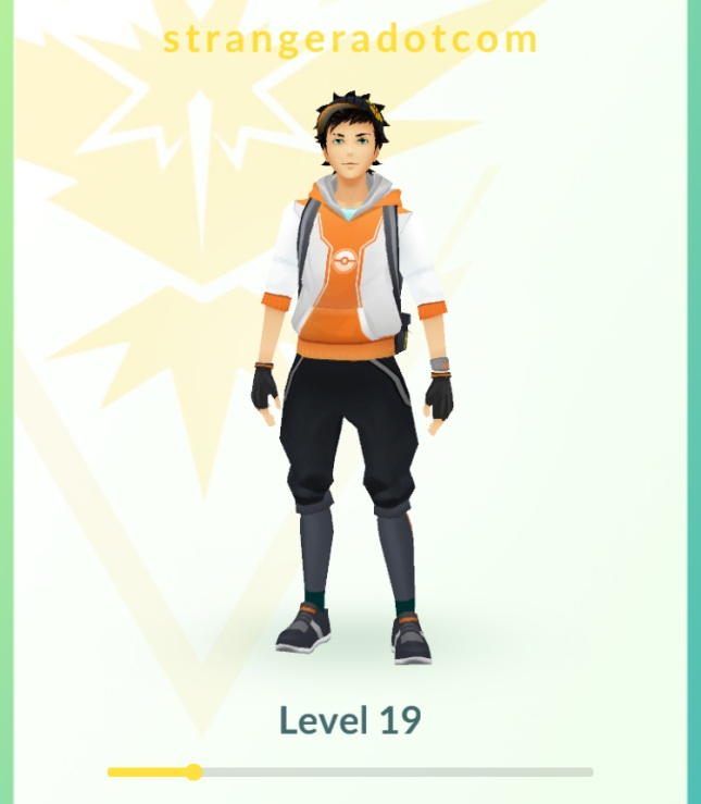 Pokémon GO - level afther 7 days