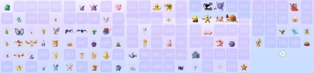 Pokémon GO - my pokemons