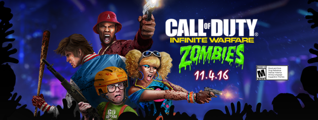 Infinite Warfare - Zombies in Spaceland