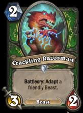 01 Crackling Razormaw