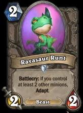 07 Ravasaur Runt