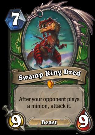 11 Swamp King Dred