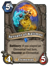 Servant of Kalimos