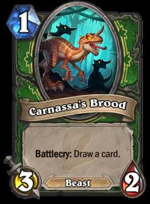 Token Carnassa's Brood
