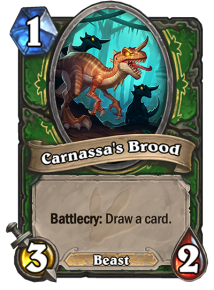 Token Carnassa's Brood