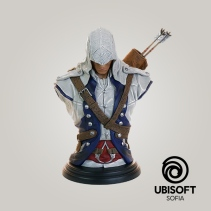 Спечелете Assassin's Creed фигура [Strangera.com на 10] https://strangera.com/2017/09/22/assassins-creed-connor-bust-strangera-com-level-10/